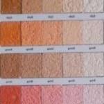 Vékonyvakolat színek